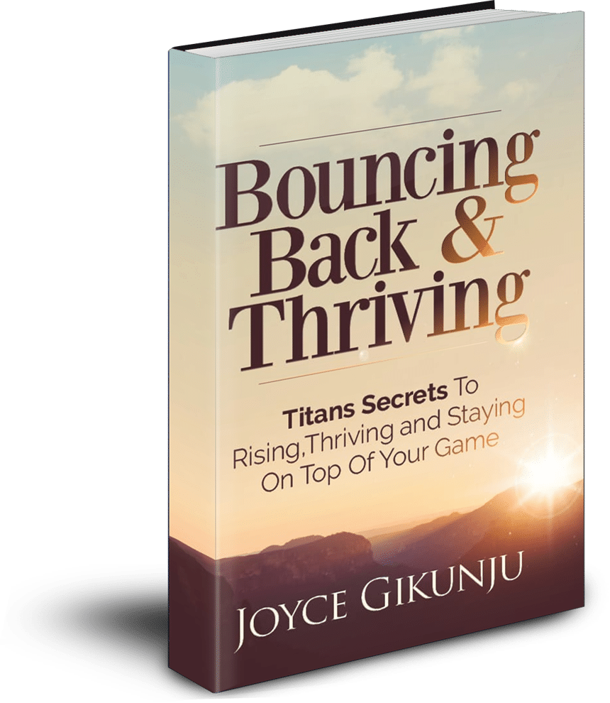 Bouncing Back and Thriving Book