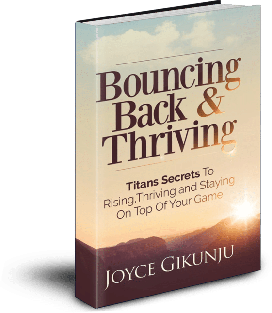 Bounce Back And Thriving Book